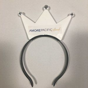 Amore Pacific Land White Crown Headband